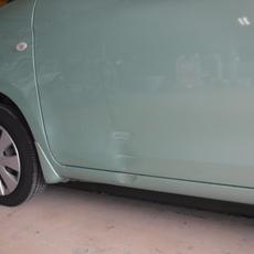 平成26年 MK32S スペーシア 左フロントドア サイドステップ 鈑金 修理