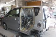 日産デイズ B21W 左リヤドア 左クォーター 板金塗装 保険修理 印西市