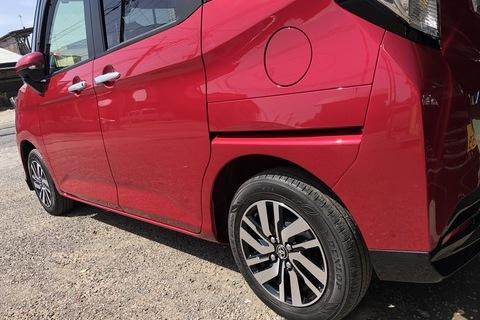 トヨタ タンク DBA-M900A 左側面 鈑金塗装 保険修理【八千代市】
