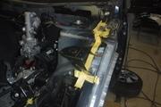 トヨタ ヴァンガード 保険事故修理 左フロントフェンダー フード破損 鈑金塗装 キズ 修理 印西市 N様
